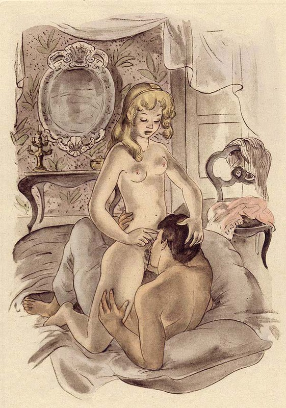 Секс рисунки иллюстрации